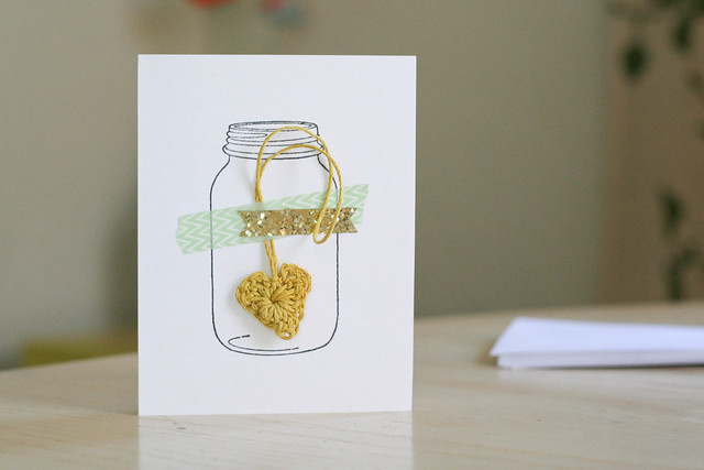 DIY Mother's Day crochet cards | yourwishcake.com