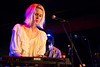Amalie Bruun with Ex Cops at Fortune Sound Club. Kirk Chantraine photo.