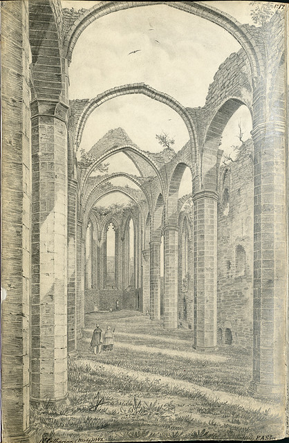 St. Katarina church ruin, Visby, Gotland, Sweden