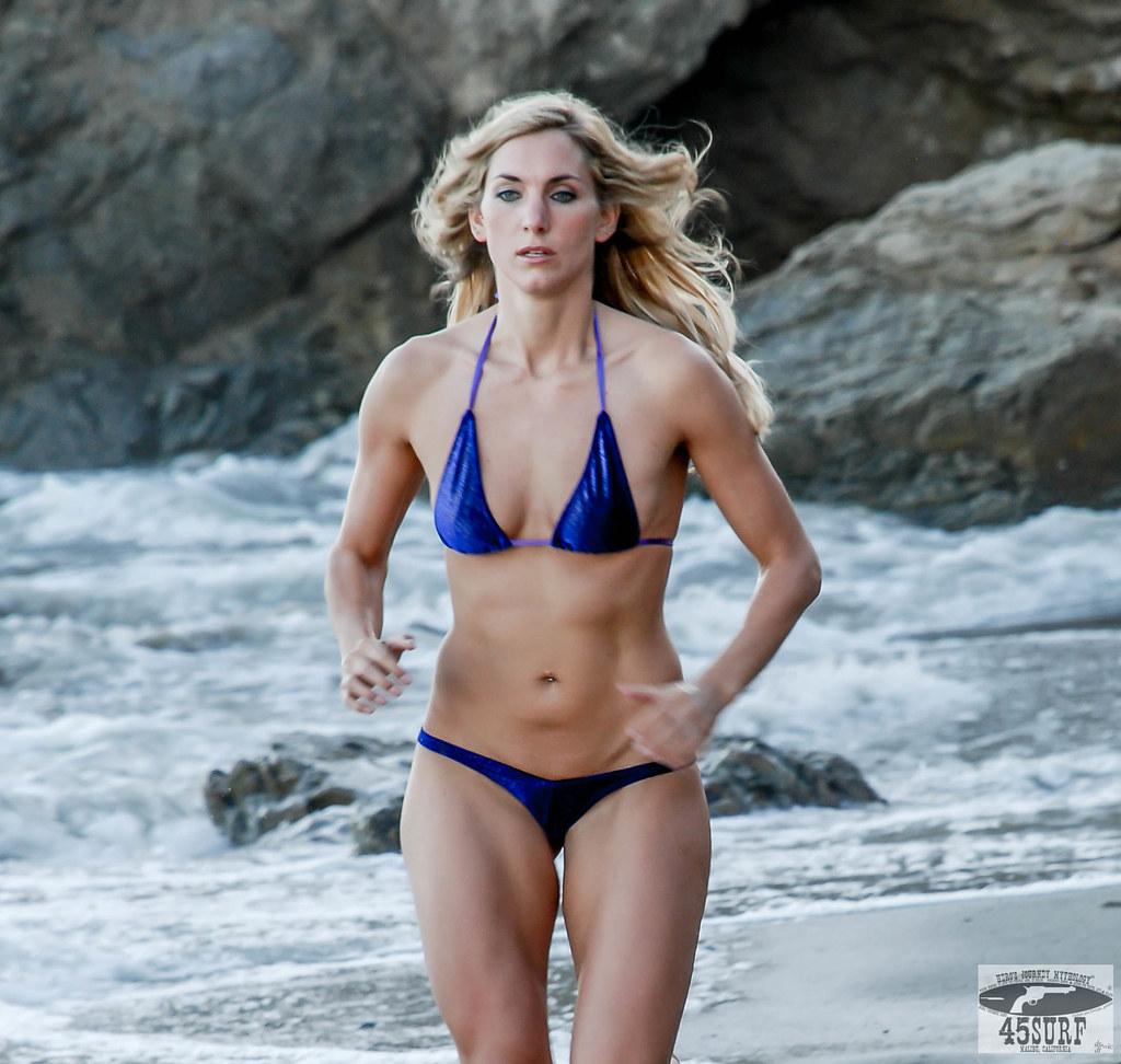 ... Beautiful Blonde Swimsuit Bikini Fitness Model Goddess!   by 45SURF  Hero's Odyssey Mythology Landscapes &