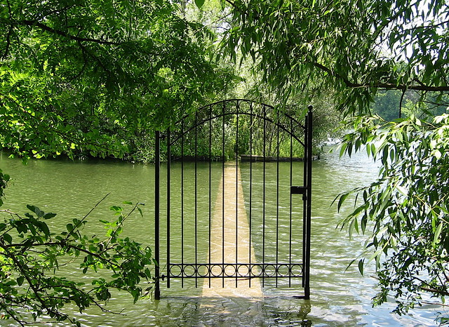 Gate on St. Joseph's Lake