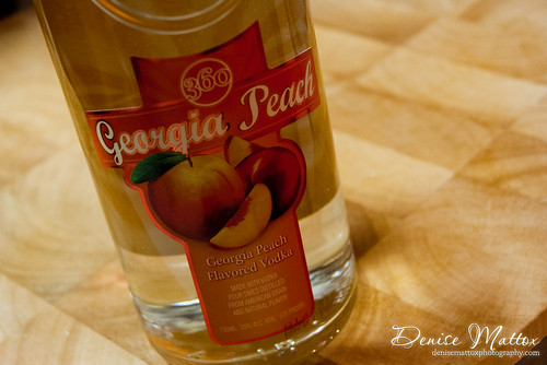 360 Vodka: Georgia Peach