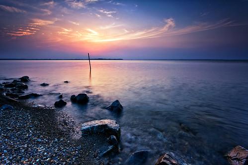 sunset sky lake nature water japan clouds canon landscape eos 日本 ibaraki 夕焼け 茨城県 canonef1740f4lusm 霞ヶ浦 5dmarkii inashikishi 稲敷市 chibitomu
