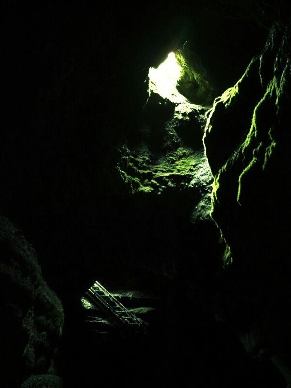 Ape Cave upper exit