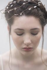 twiggy  bridal headpiece