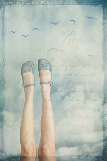 Con los pies en las nubes...