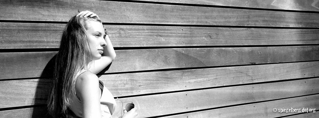 Sonne auf Holz und Mia