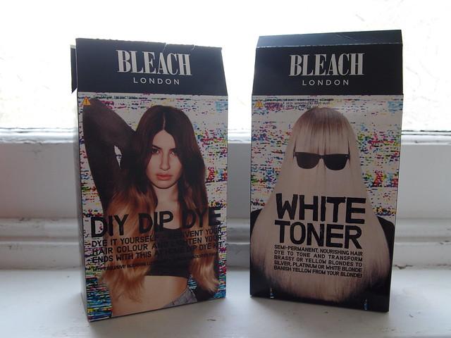 Bleach DIY Dip Dye