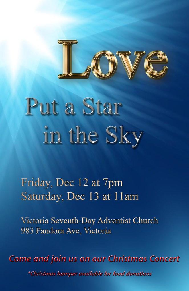 LOVE PUT A STAR IN THE SKY