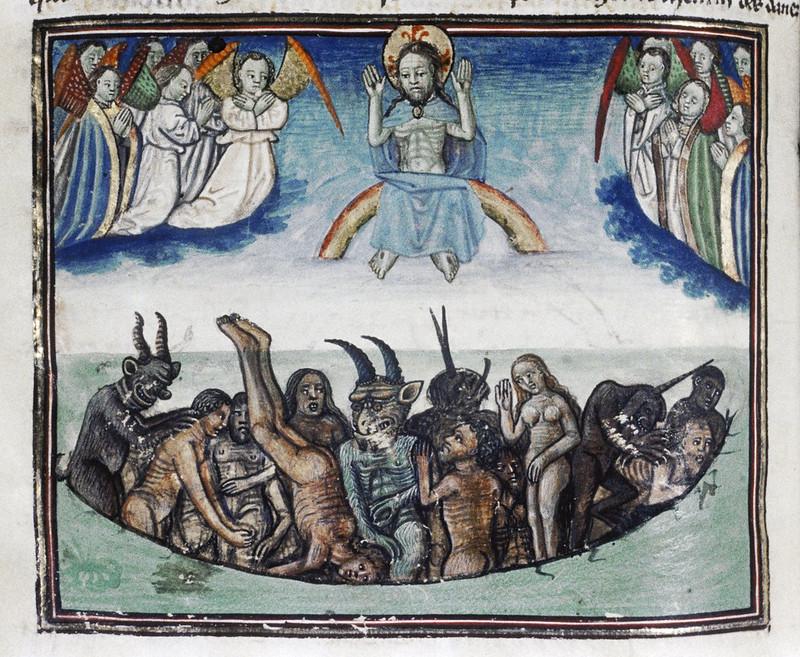 Demons From The Livre de la vigne nostre Seigneur, 1450 - 70 (17)