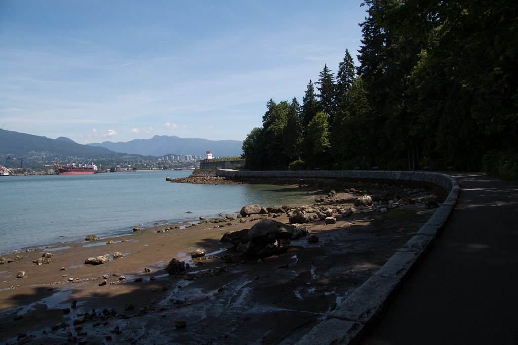 Water views from Stanley Park
