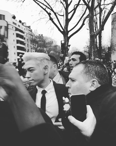 TOP - Dior Homme Fashion Show - 23jan2016 - wang_maojie - 02