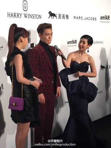 TOP - amfAR Charity Event - Red Carpet - 14mar2015 - smilesproduction - 05