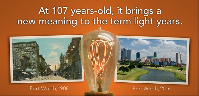 Light Years: A 107-Year-Old Light Bulb