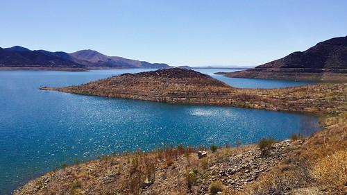 diamondvalleylake hemet california biking lake trail iphonephotography iphoneography 2016 water reservoir