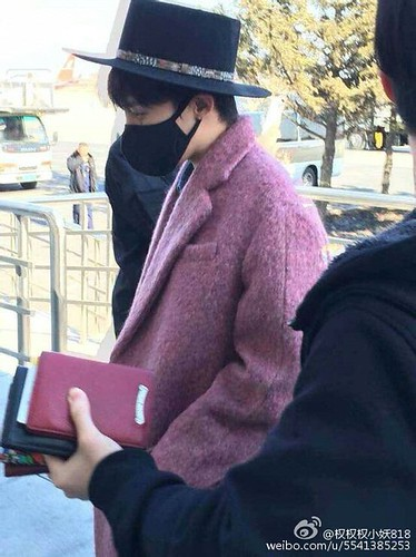 Big Bang - Harbin Airport - 21mar2015 - G-Dragon - 权权权小妖818 - 01