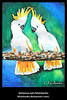 Cockatoos Painting by K. Fairbanks