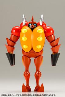 昭和模型少年俱樂部《再造人卡辛》火炎放射機器人(附有卡辛的夥伴「機器犬亨達Friender」)