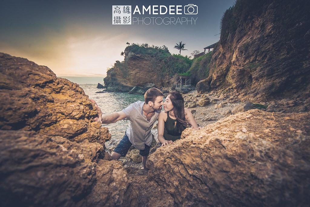 Eddie & Eva在美術館和西子灣的婚紗攝影