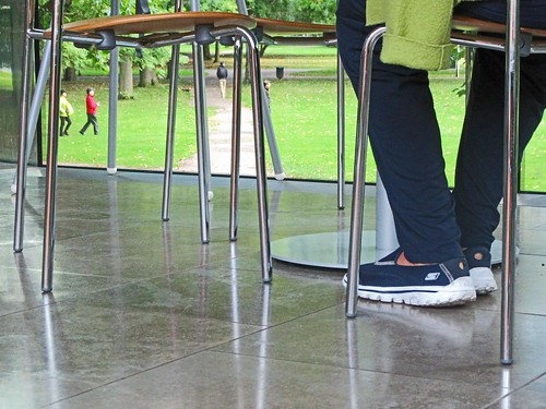 Legs, Window,Grass People