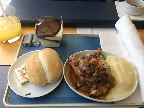 Lunch on Amtrak's Acela