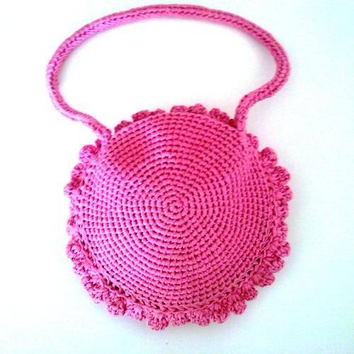 Bolso rosa mexicano