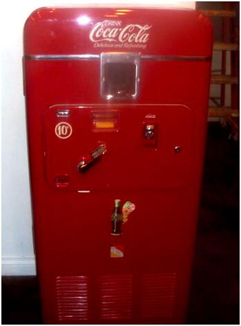 Antique Coca-Cola Formula Machine