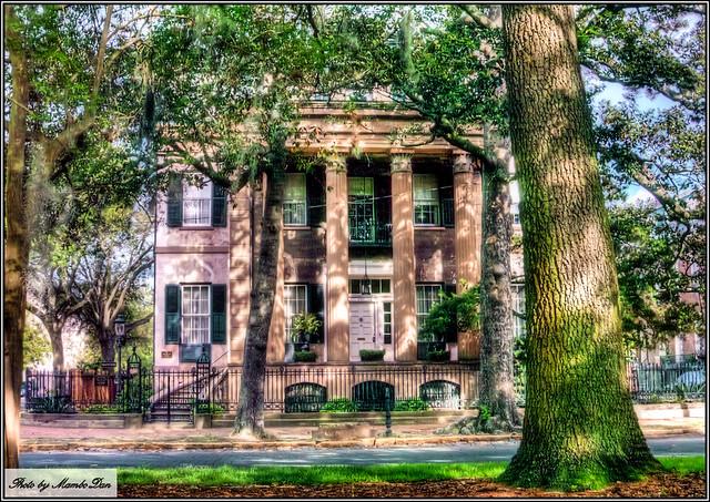 Historic savannah greek revival home flickr photo sharing for Historic houses in savannah ga