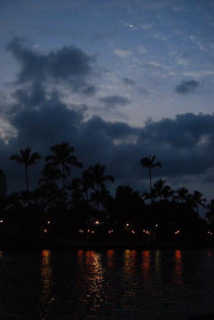 Kamakahonu as Night Falls