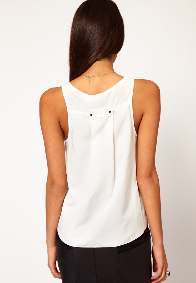 ASOS Vest With Pocket Detail