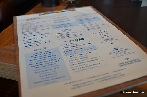 The Merrywell Menu