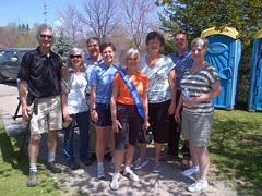 MP Dr. Leitch at the Hike for Hospice for Matthews House. Saturday, May 4th, 2013.