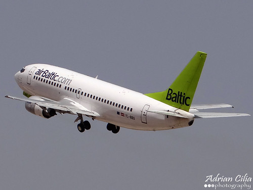 Air Baltic --- Boeing B737-300 --- YL-BBS