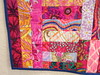 Stripe-Tease Mini Quilt (Closeup 2)
