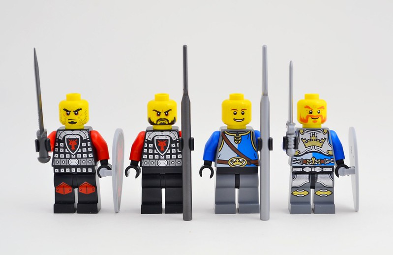 Review 70402 The Gatehouse Raid Lego Historic Themes Eurobricks