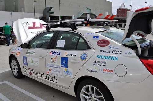 Siemens PLM Software provides CAD for students in the EcoCAR collegiate competition