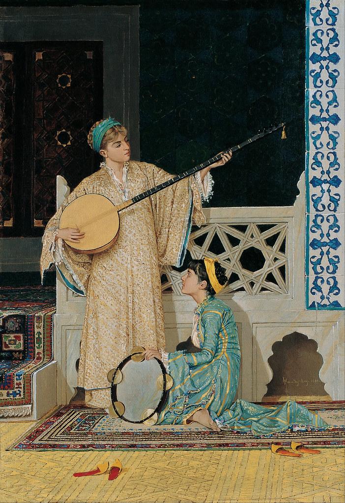 Osman Hamdi Bey - Two Musisian Girls