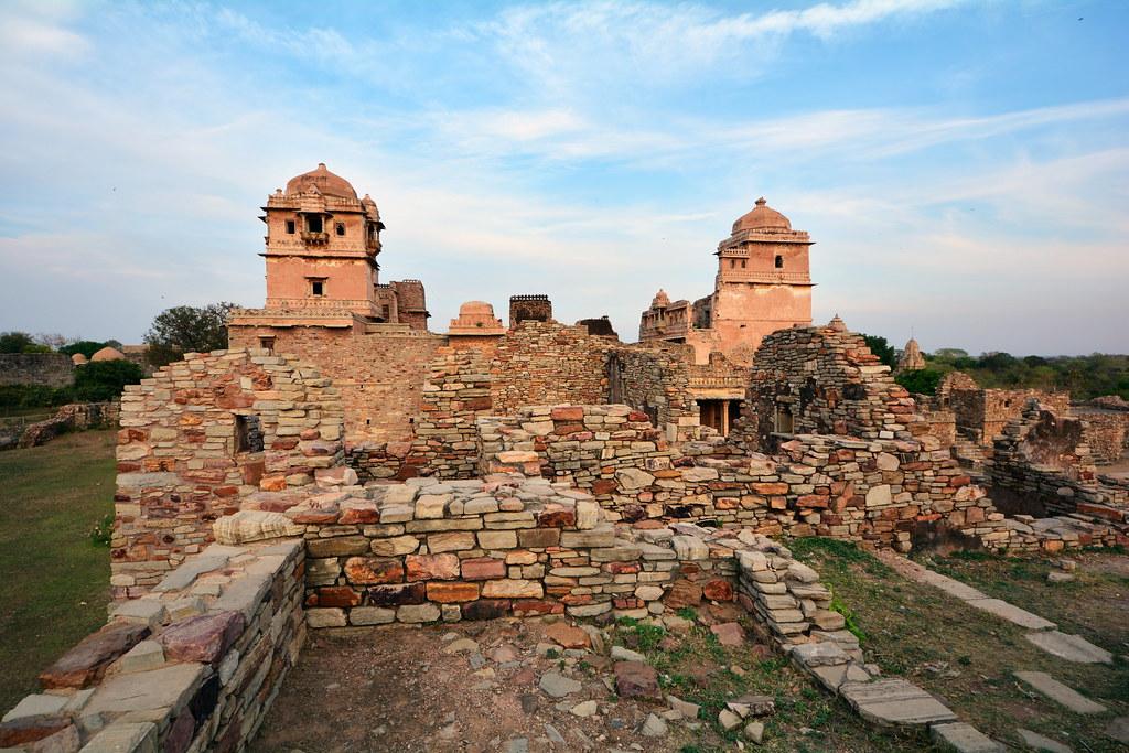 India - Rajasthan - Chittorgarh - Rana Kumbha Palace - 18