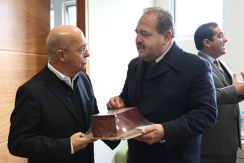 Andrés Bustamante y Mario García Valdez