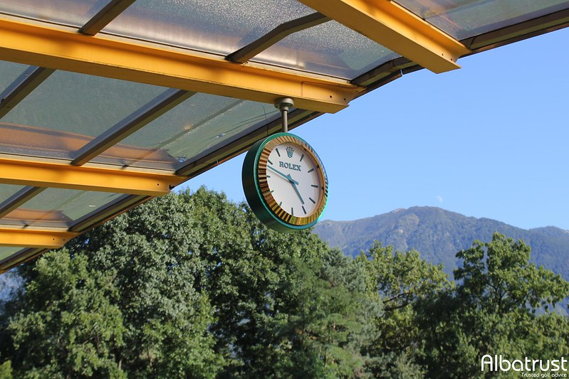 photo du golf Ascona - Practice - Putting green