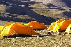 Expedition Cho Oyu. Basislager. Foto: Archiv Härter.