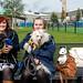 Irina, Maiju & the dogs by Poupetta