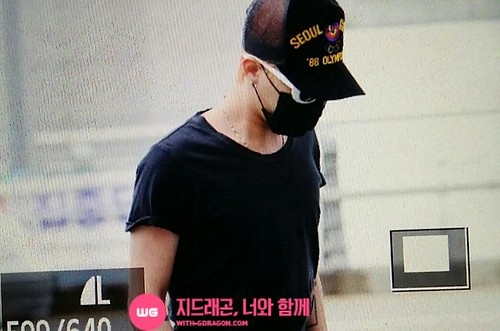 Big Bang - Incheon Airport - 26jun2015 - With G-Dragon - 01