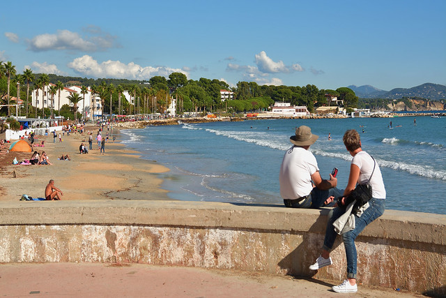La Ciotat / The beach in the fall