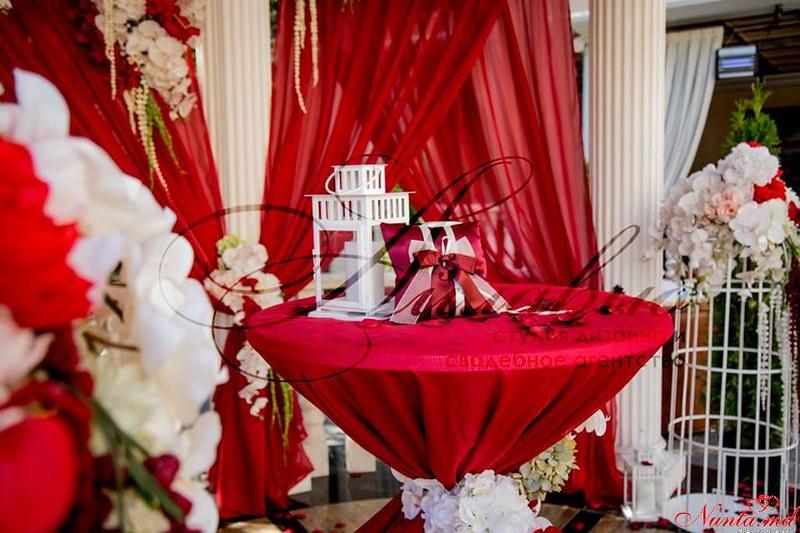Cвадебное агентство «Айлавью»  > Фото из галереи ` Красный цвет — чувственный, прекрасный, смелый!`