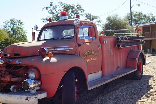 Old Fayette FIre Truck