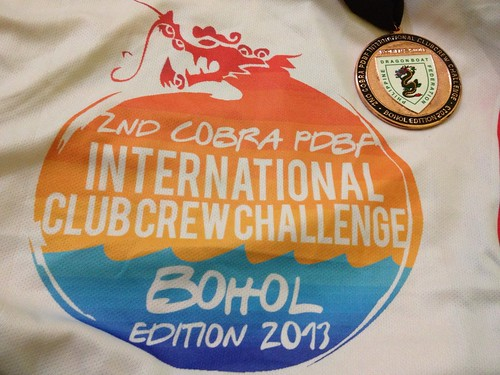 Got my first medal at 2nd Cobra-PDBF International Club Crew Challenge Bohol Edition