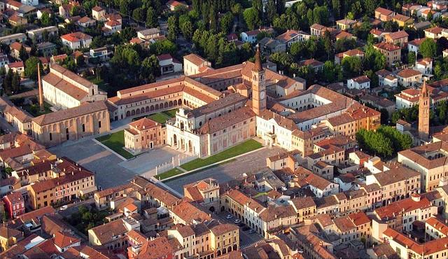 Renaissance Monastery of San Benedetto Po, near Mantova, ITALY