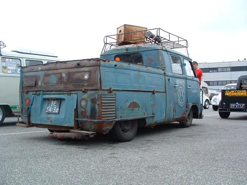 BE-54-36 Volkswagen Transporter dubbelcabine 1960