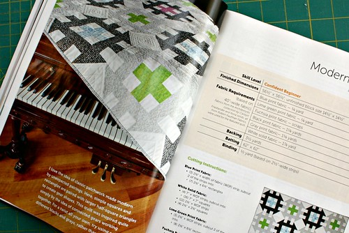 Modern Gears, my pattern in the Spring 2013 issue of MQU
